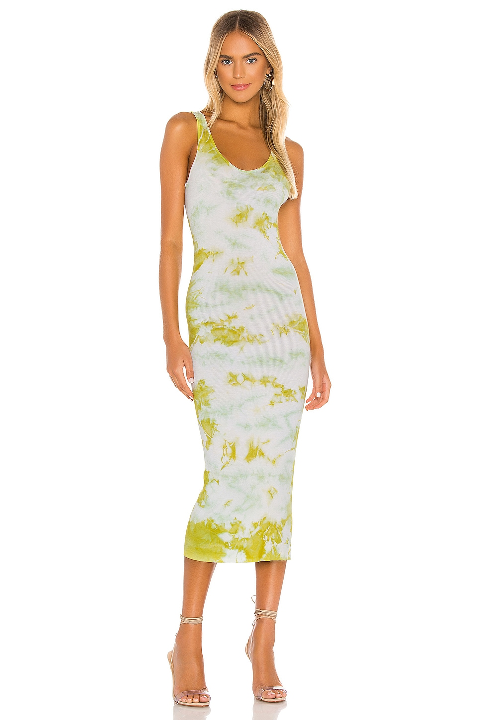 Silk Rib Tank Midi Dress             Enza Costa                                                                                                       CA$ 281.52 1