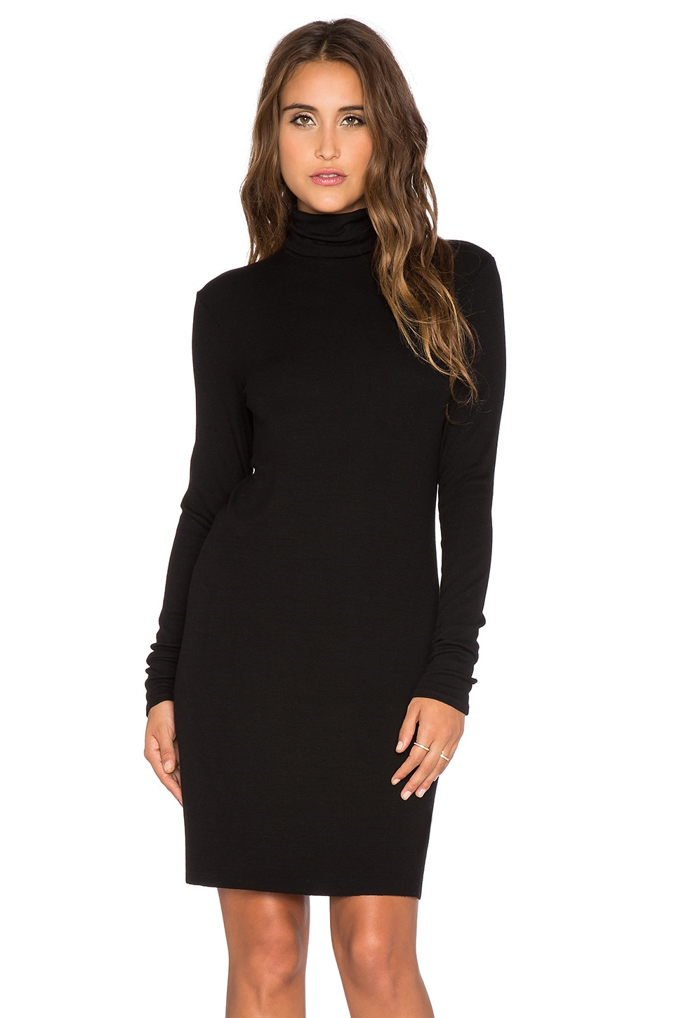 Chic turtleneck dress