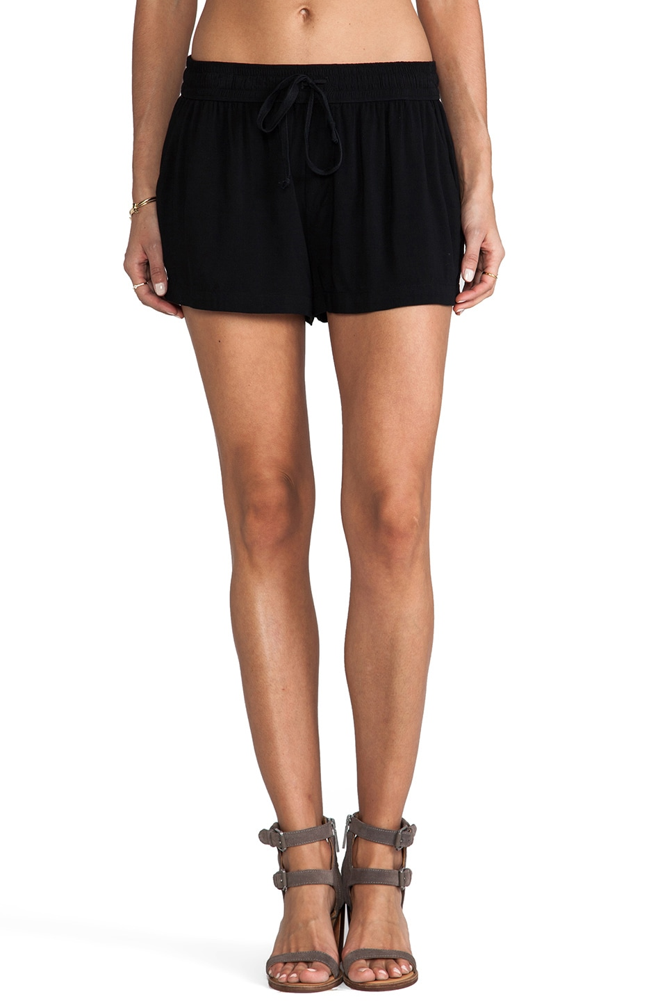 Enza Costa Challis Short in Black