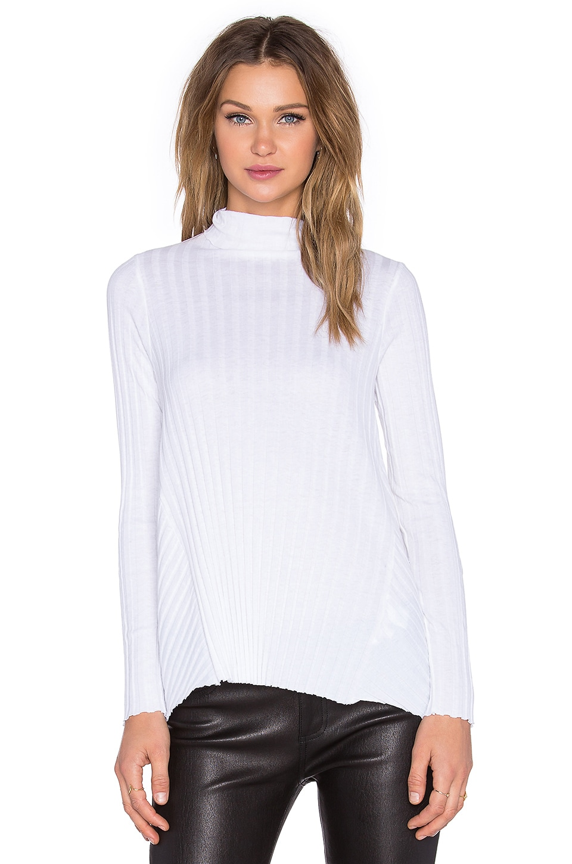 Cashmere Flare Long Sleeve Turtleneck Sweater