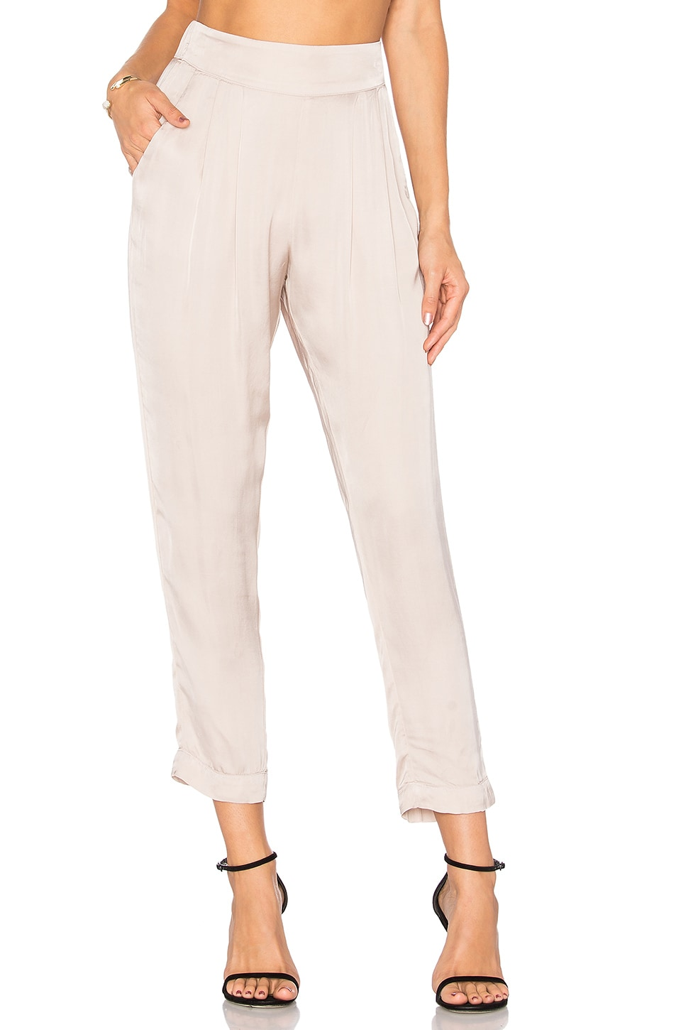 Pleated Easy Pant