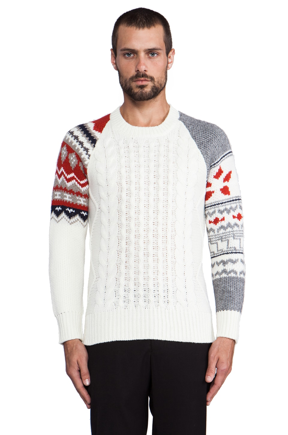 Eleven Paris Viktor Sweater in Off White