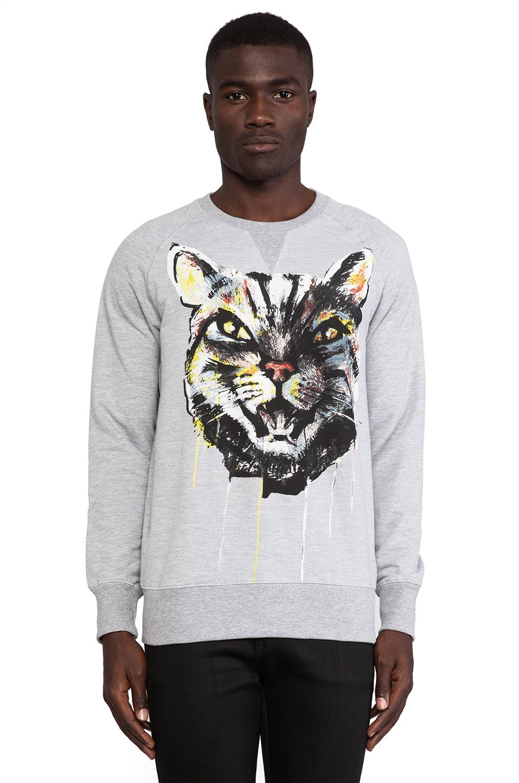 Eleven Paris Suntachu Sweatshirt in Grey