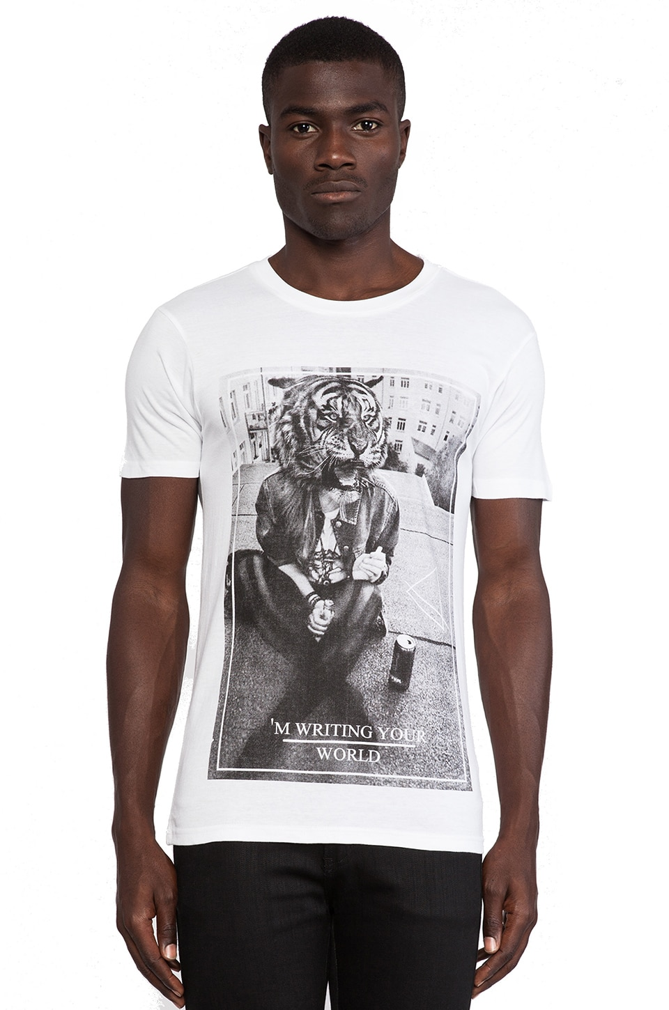 Eleven Paris Awori T-Shirt in White