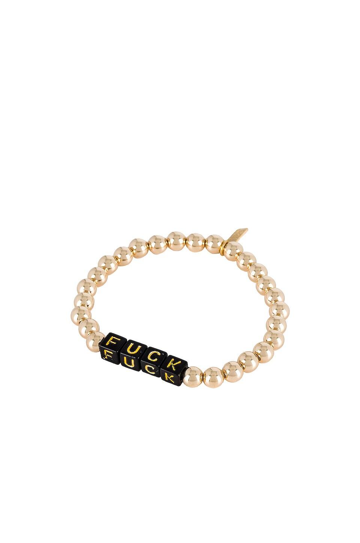 Electric Picks Jewelry X REVOLVE Tag Bracelet in Gold