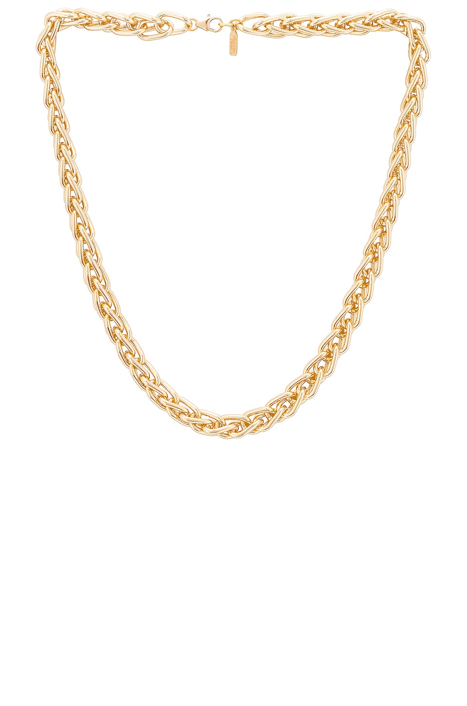Electric Picks Jewelry Lasso Necklace in Gold