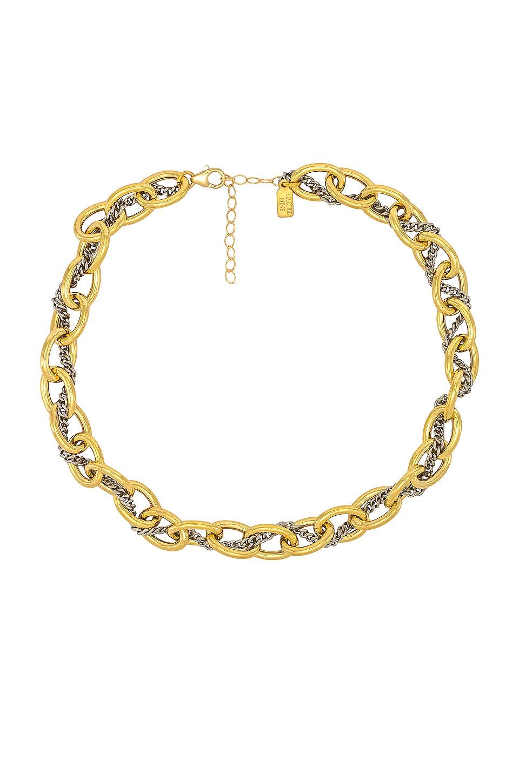 Electric Picks Jewelry Zeus Necklace in Gold Vermeil