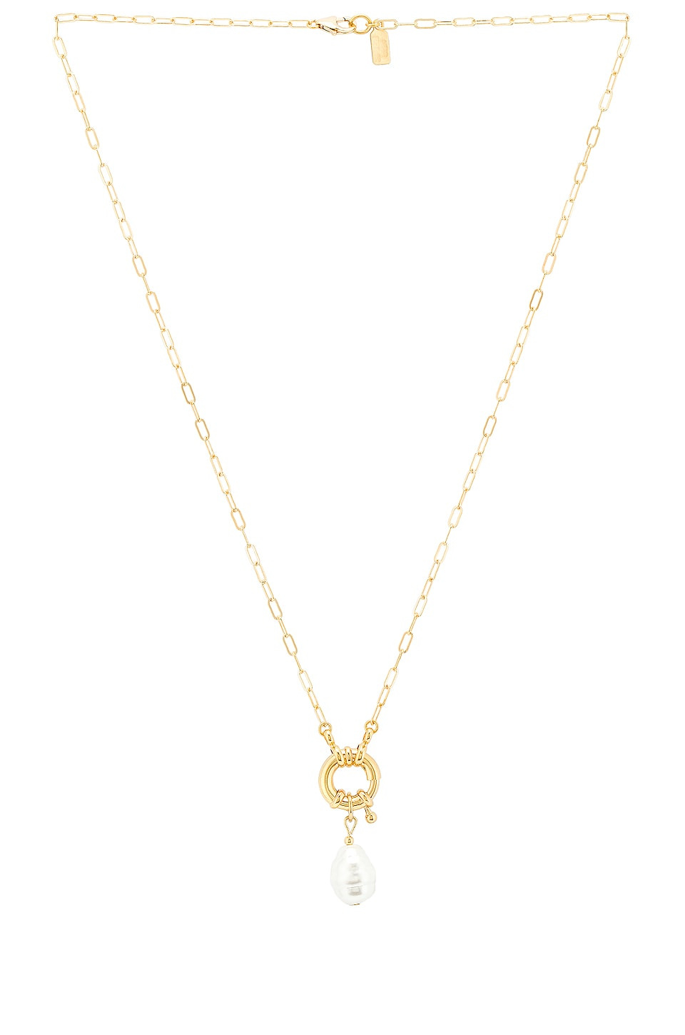 Electric Picks Jewelry Pirate Necklace in Gold