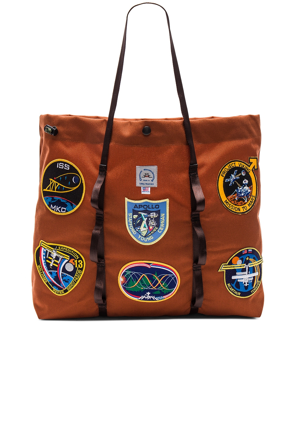Vintage NASA Patch Large Tote by Epperson Mountaineering