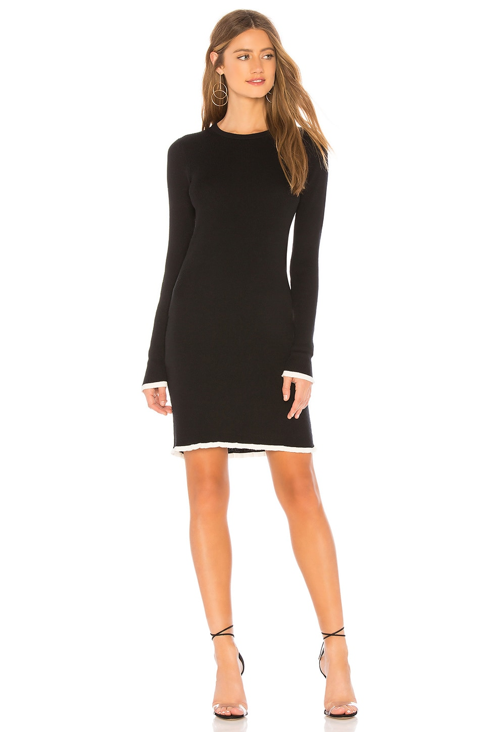 Fifi Rib Sweater Dress