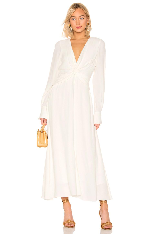 Equipment Faun Dress in Nature White