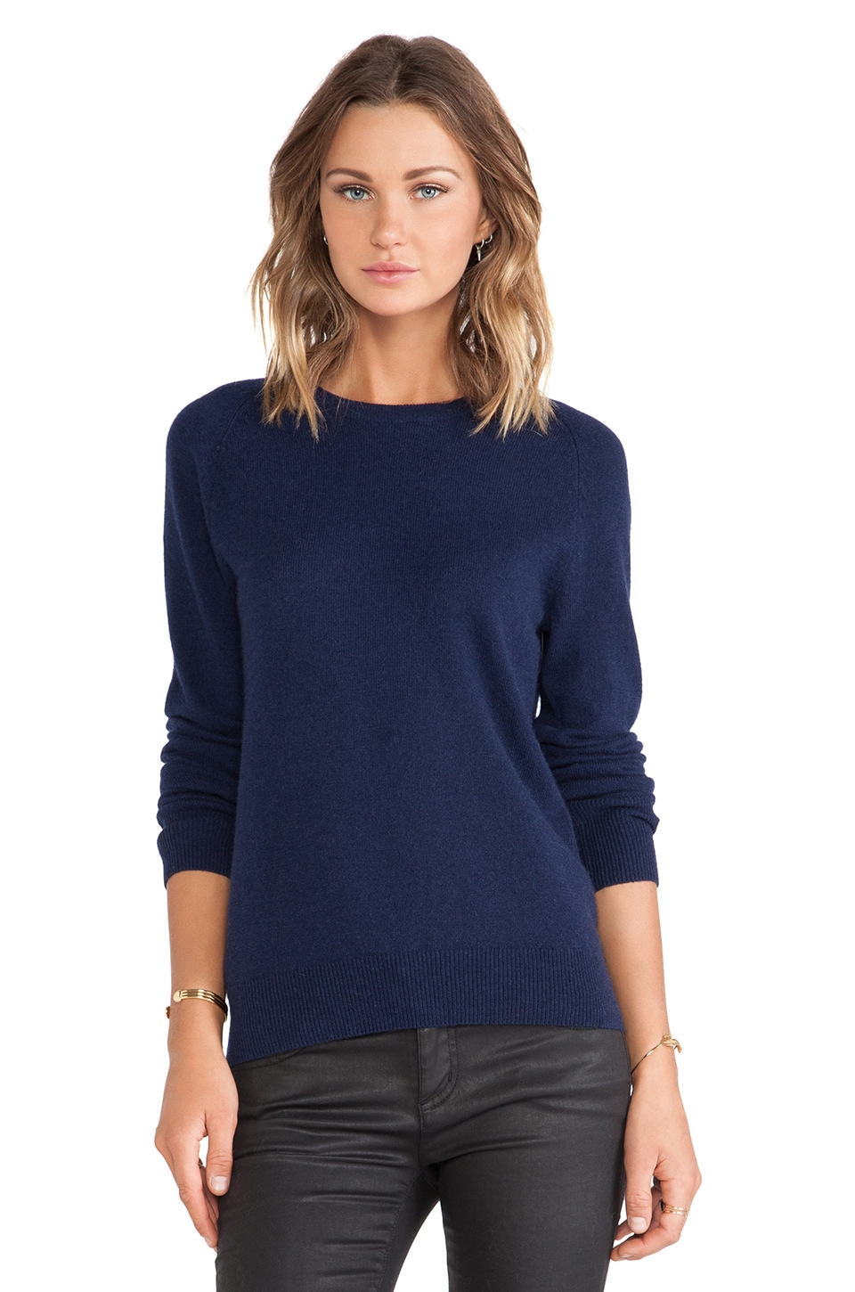 Equipment Sloane Crewneck Sweater in Peacoat