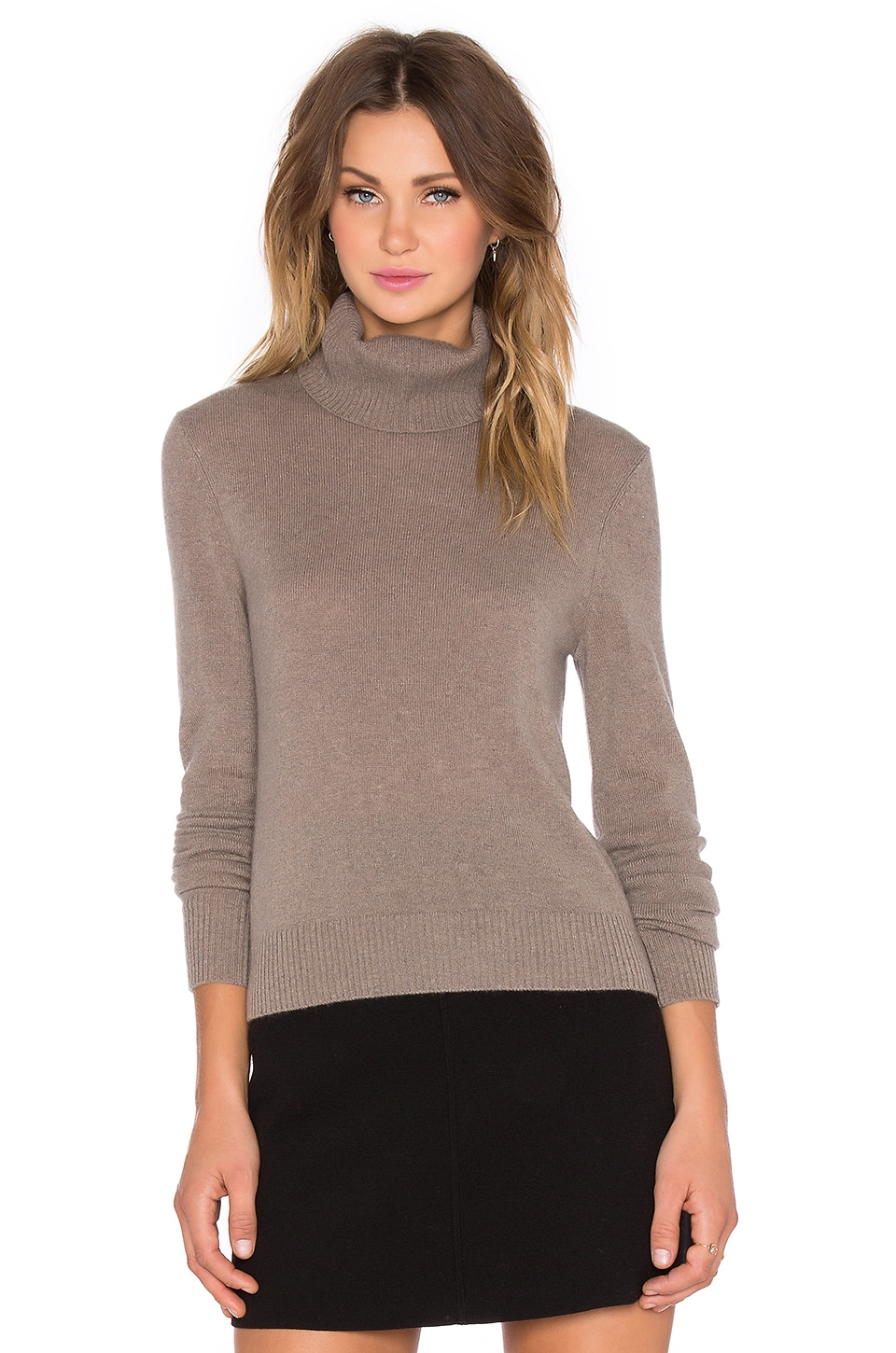 Equipment Atticus Cashmere Classics Turtleneck Sweater in Heather ...