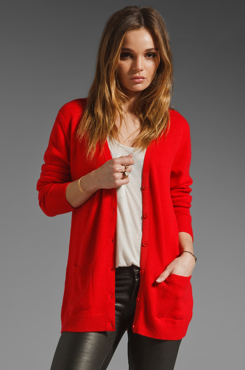 Equipment Ella Cardigan in Grenadine