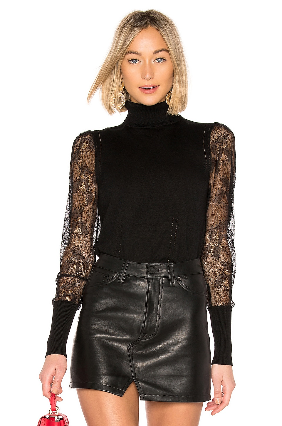 Equipment Sid Top in Black