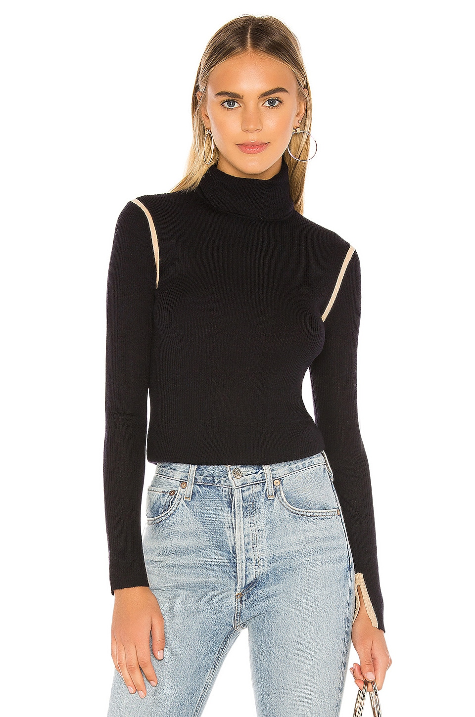 Equipment Mourelle Turtleneck in Eclipse