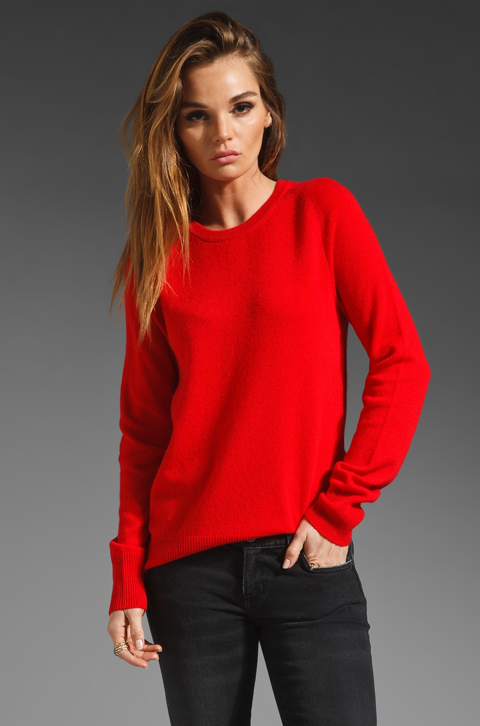 Equipment Sloane Crew Sweater in Grenadine