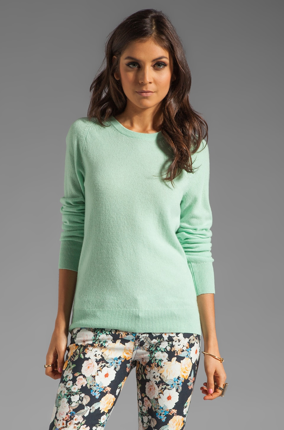 Equipment Sloan Crew Neck Sweater in Lichen