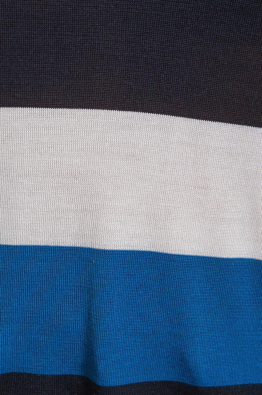 Equipment Joyce Open Crew Sweater in Peacoat/Electric Blue