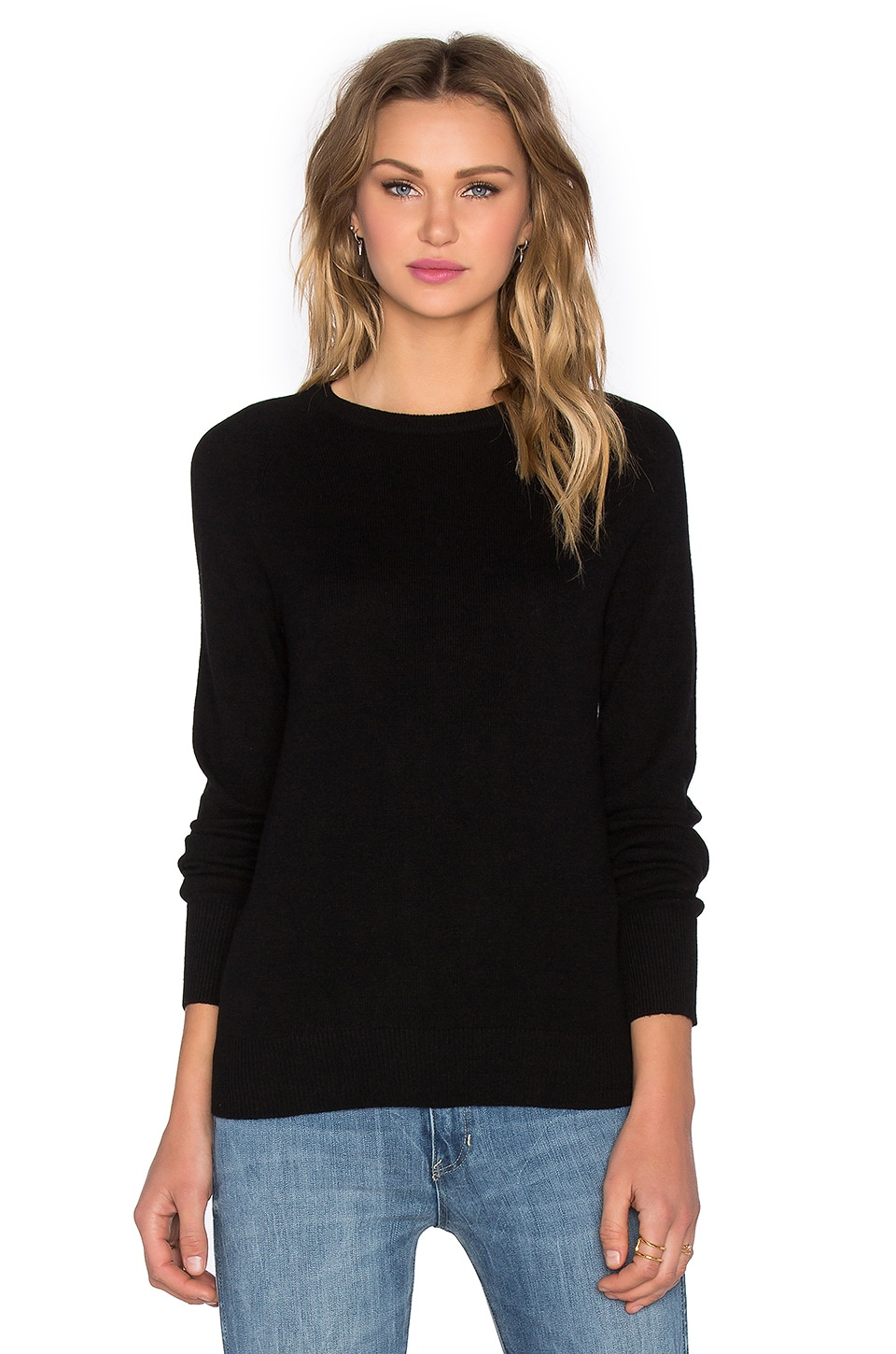 Equipment Sloane Crew Sweater in Black