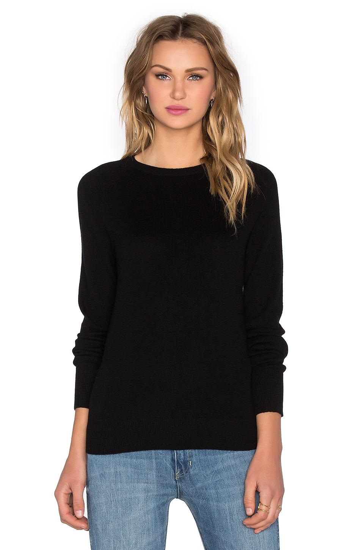Equipment Sloane Crew Sweater in Black