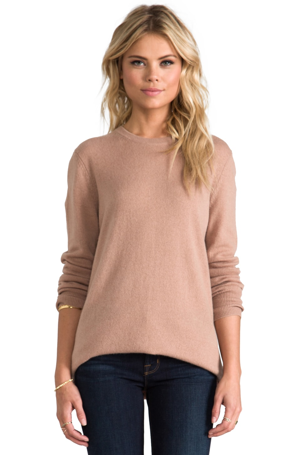 Equipment Rei Crew Sweater in Camel