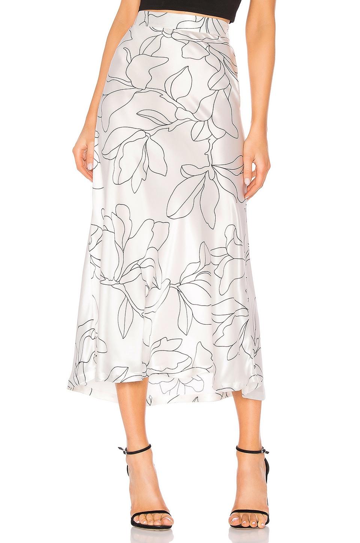 Equipment Iva Skirt in Natural White