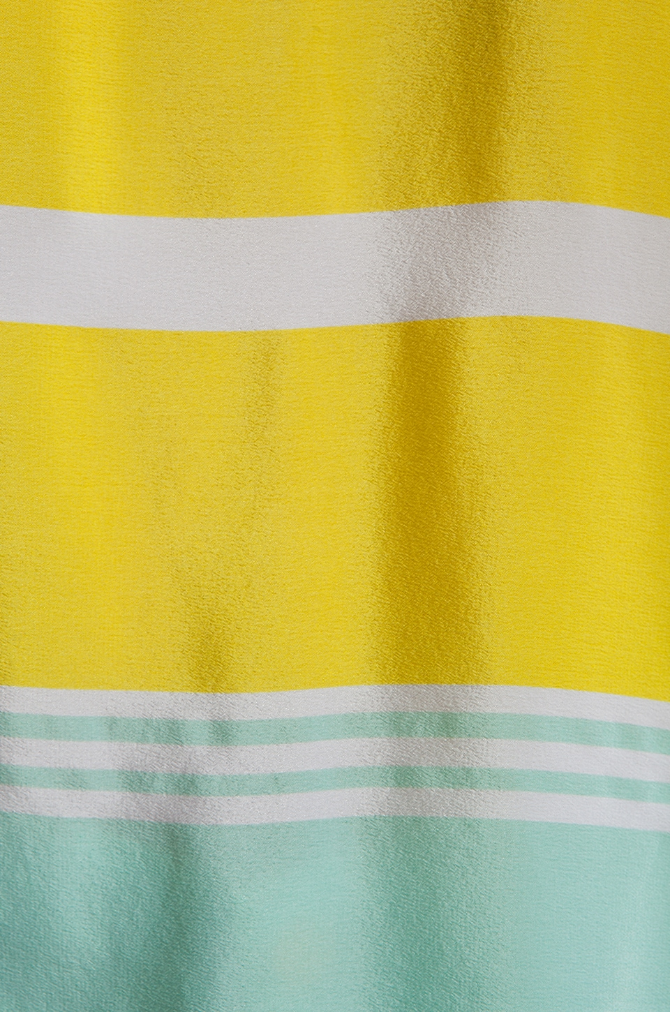 Equipment Venice Stripes Reagan Blouse in Blazing Yellow/Ice Green