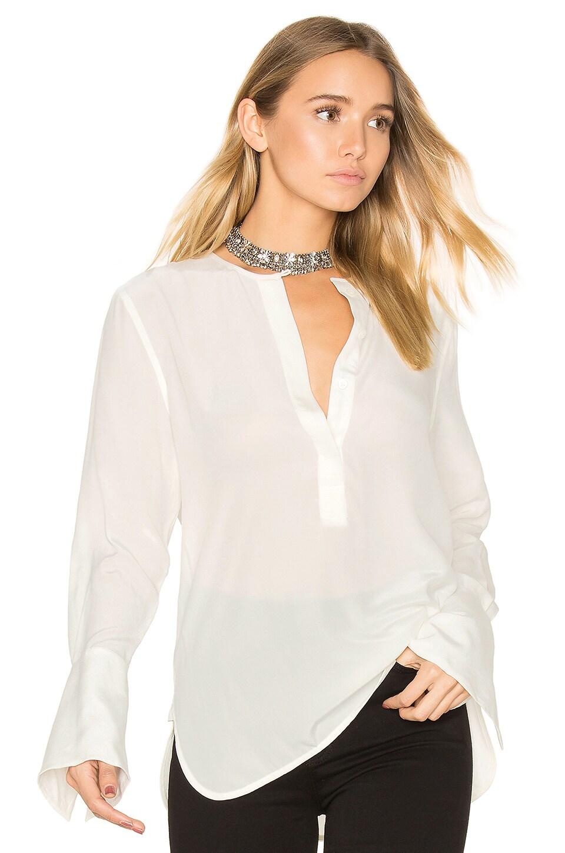 Equipment Kenley Silk Blouse in Bright White