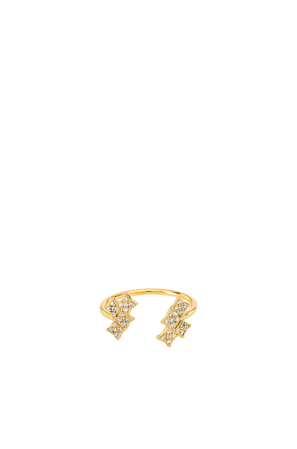 ERTH Starry Night Cluster Ring in Gold