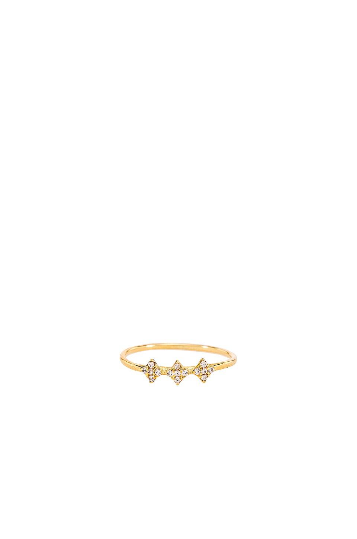 Shimmering Star Ring