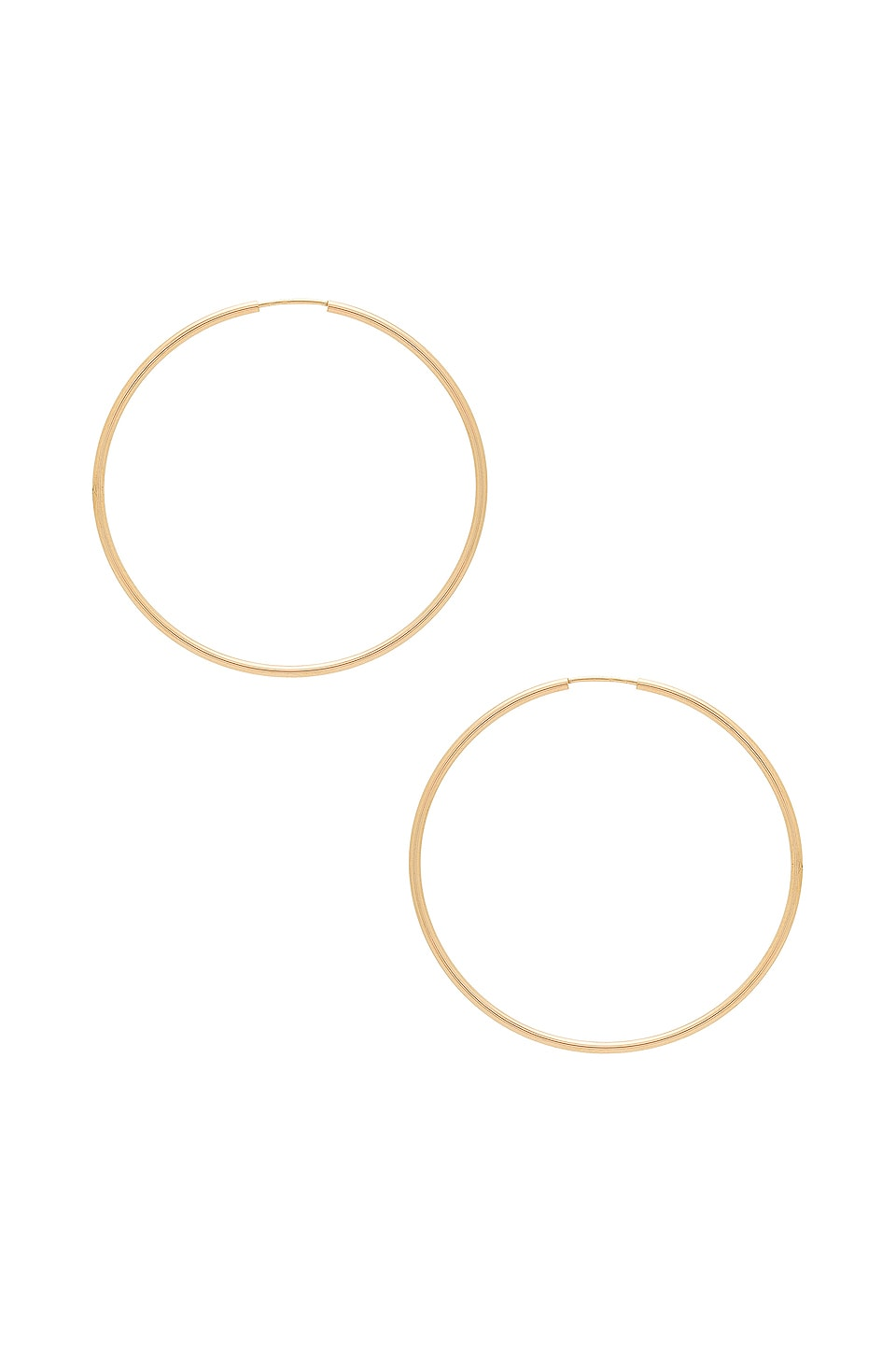 ERTH Hoop II Earrings in Gold