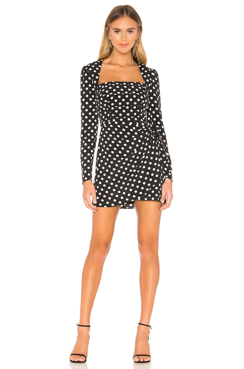 The East Order Amy Mini Dress in Merci Polka