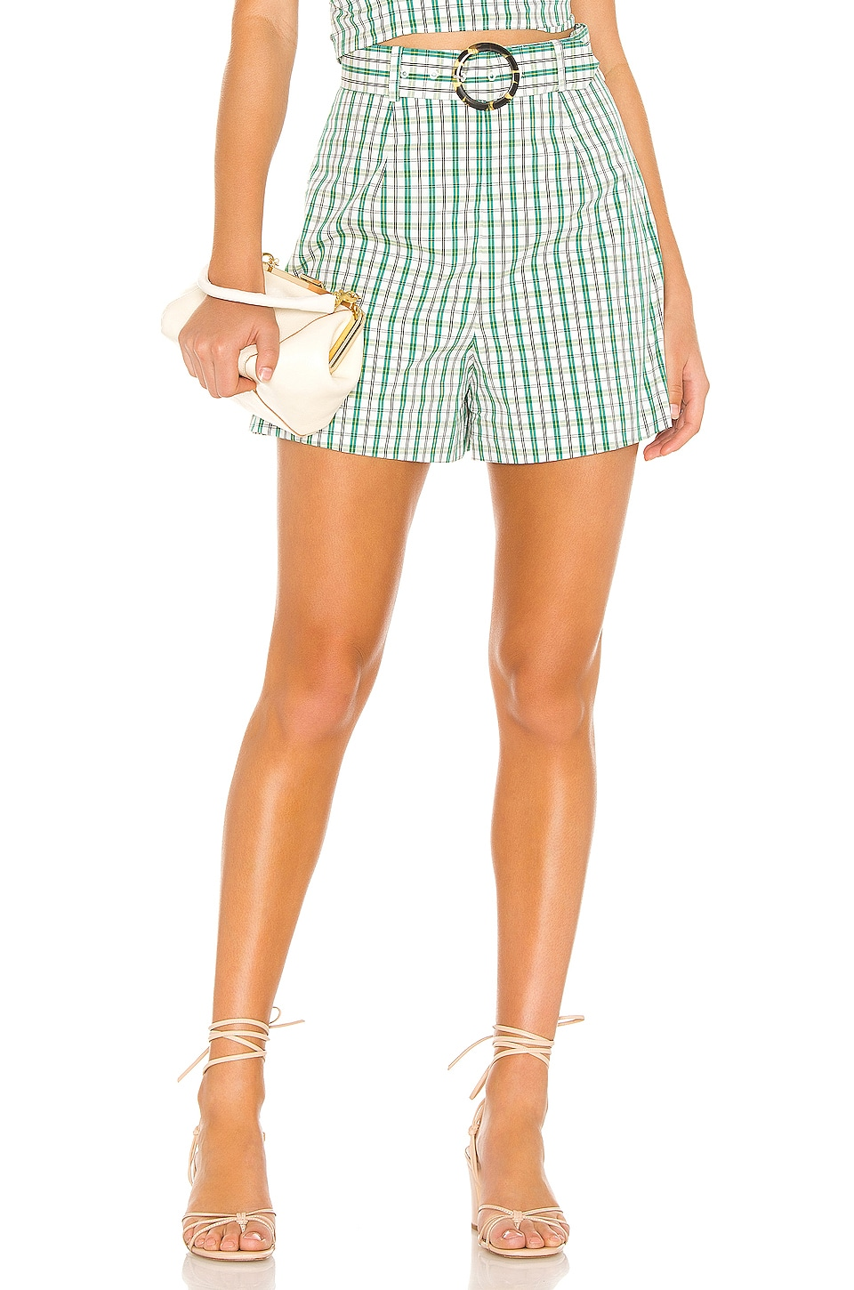 The East Order Gaia Short in Green Plaid