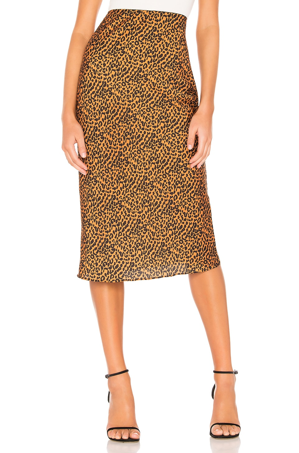 The East Order Sahara Midi Skirt in Safari