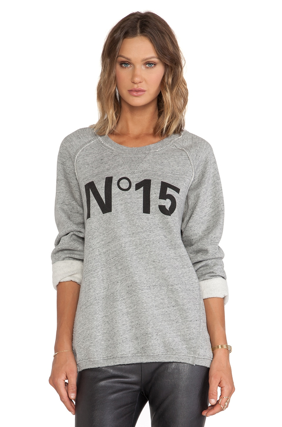 Essentiel Antwerp Hiedra Sweater in Grey