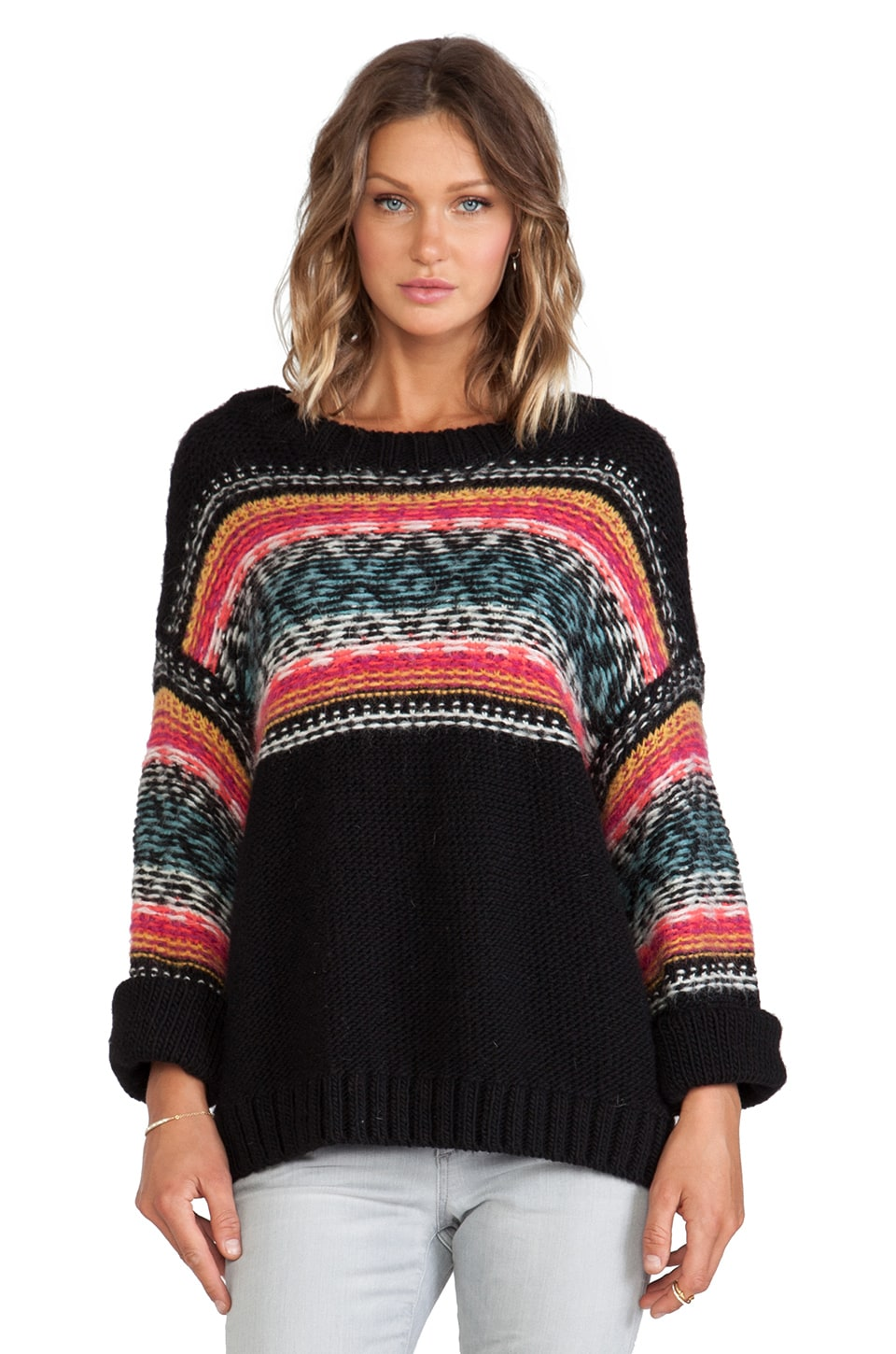 Essentiel Antwerp Hypsetter Sweater in Black