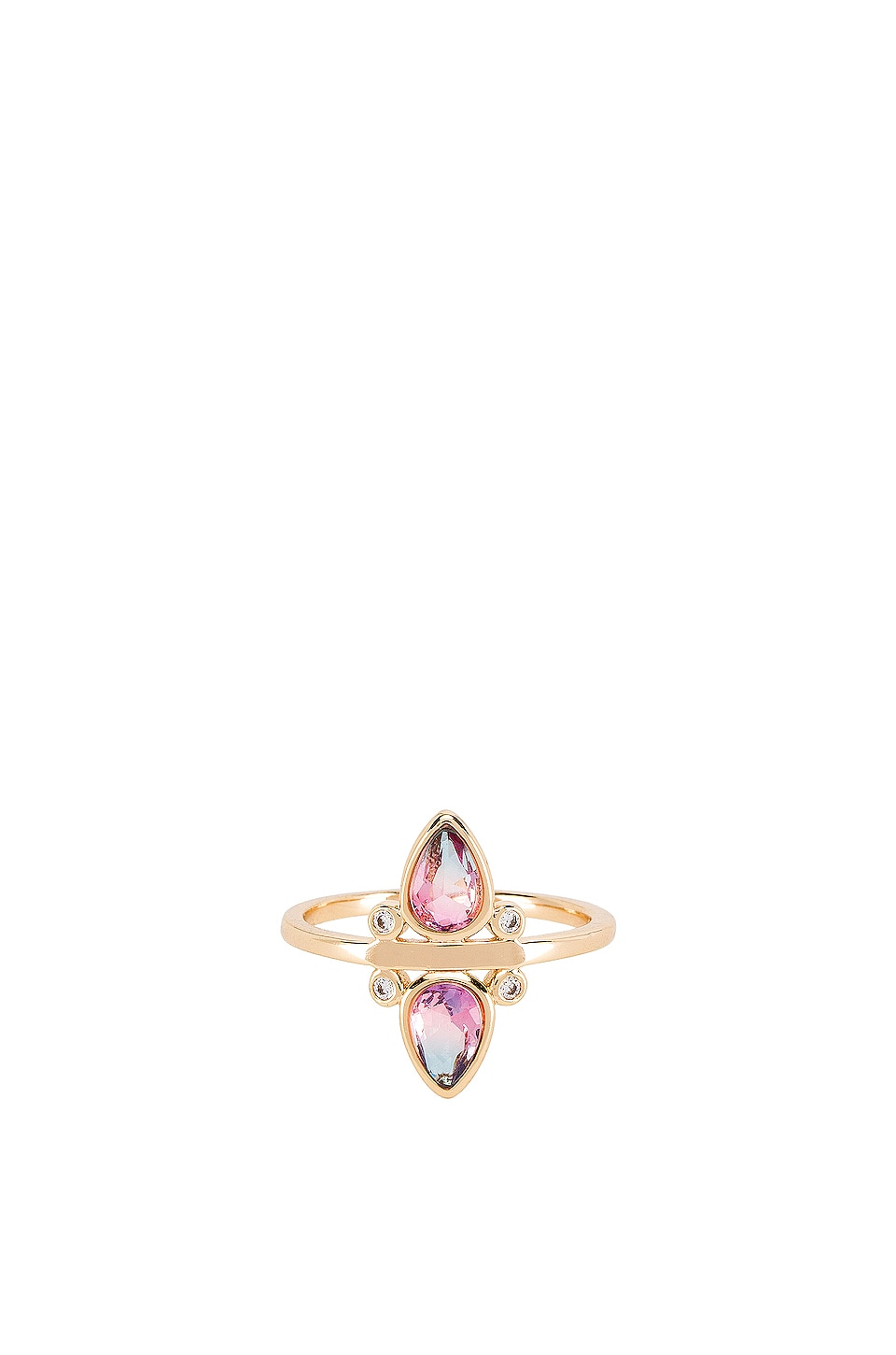 Elizabeth Stone Tourmaline Ring in Pink & Purple Tourmaline