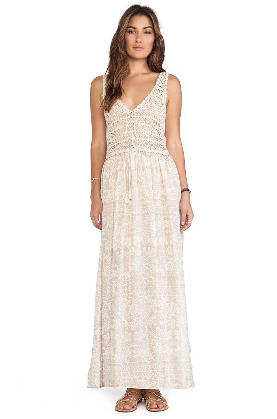 Eternal Sunshine Creations Paradise Maxi Dress in Sand