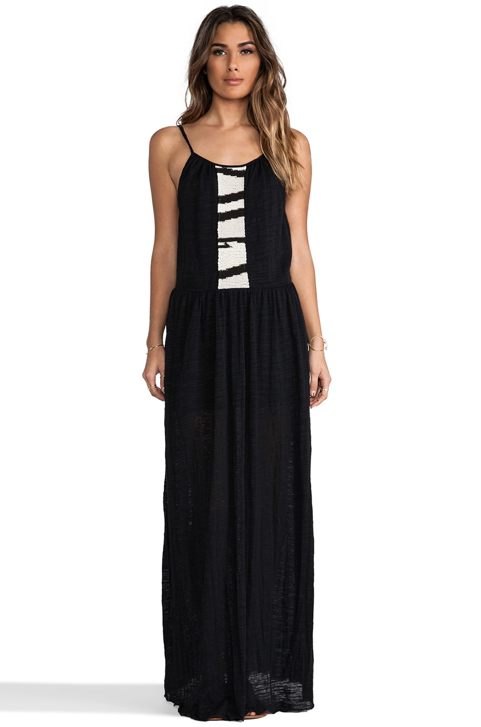 Eternal Sunshine Creations Ali Maxi Dress in Black