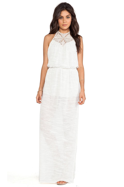 Eternal Sunshine Creations Hana Maxi Bare Back Dress in Birch
