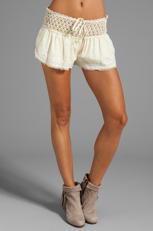 Eternal Sunshine Creations Day Cream Shorts in Bone