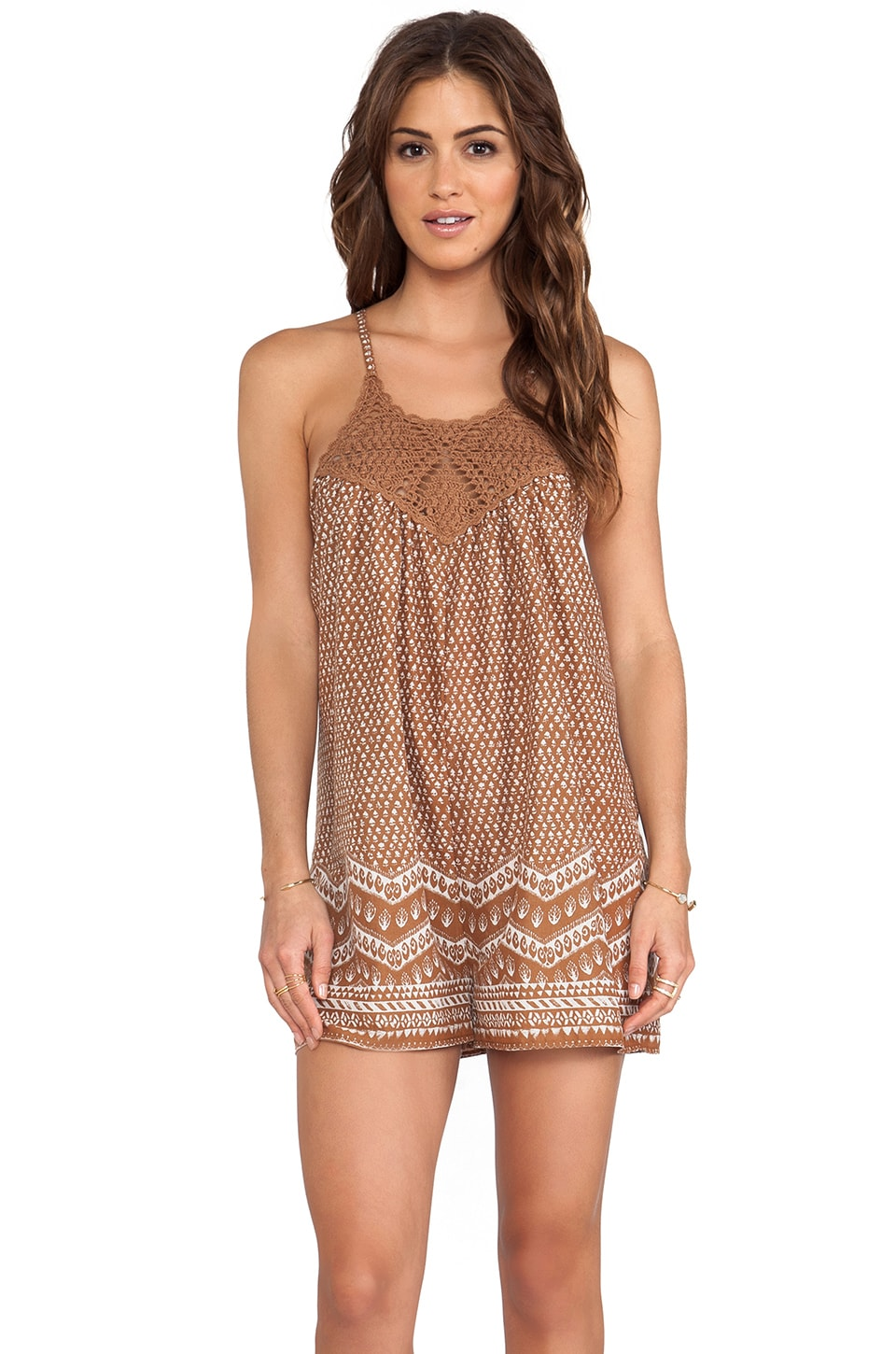 Eternal Sunshine Creations Island Romper in Bronze