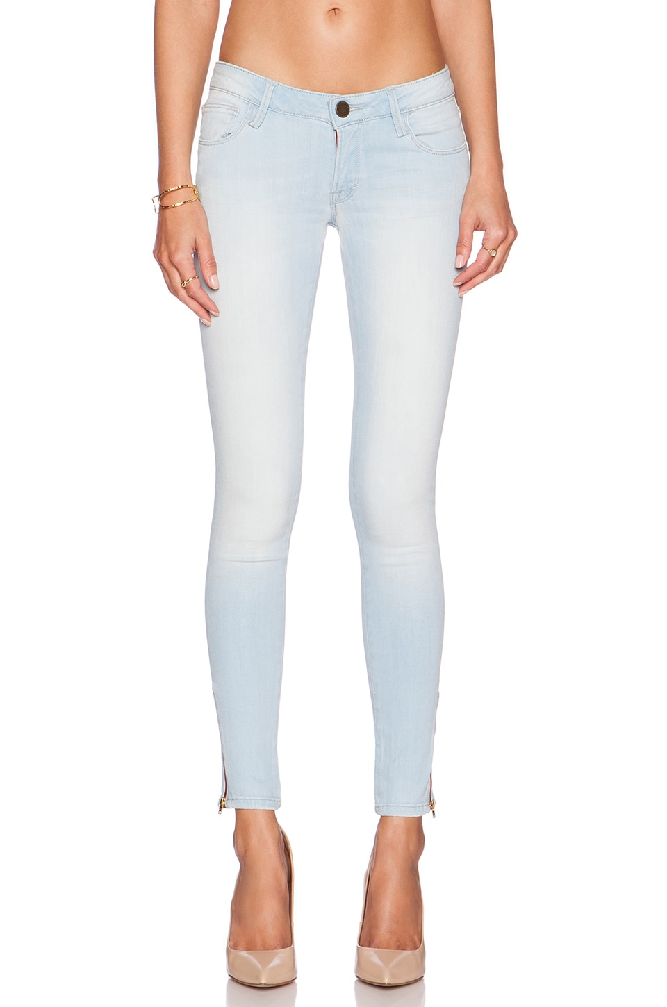 Midrise Skinny Cropped Jeans by Etienne Marcel