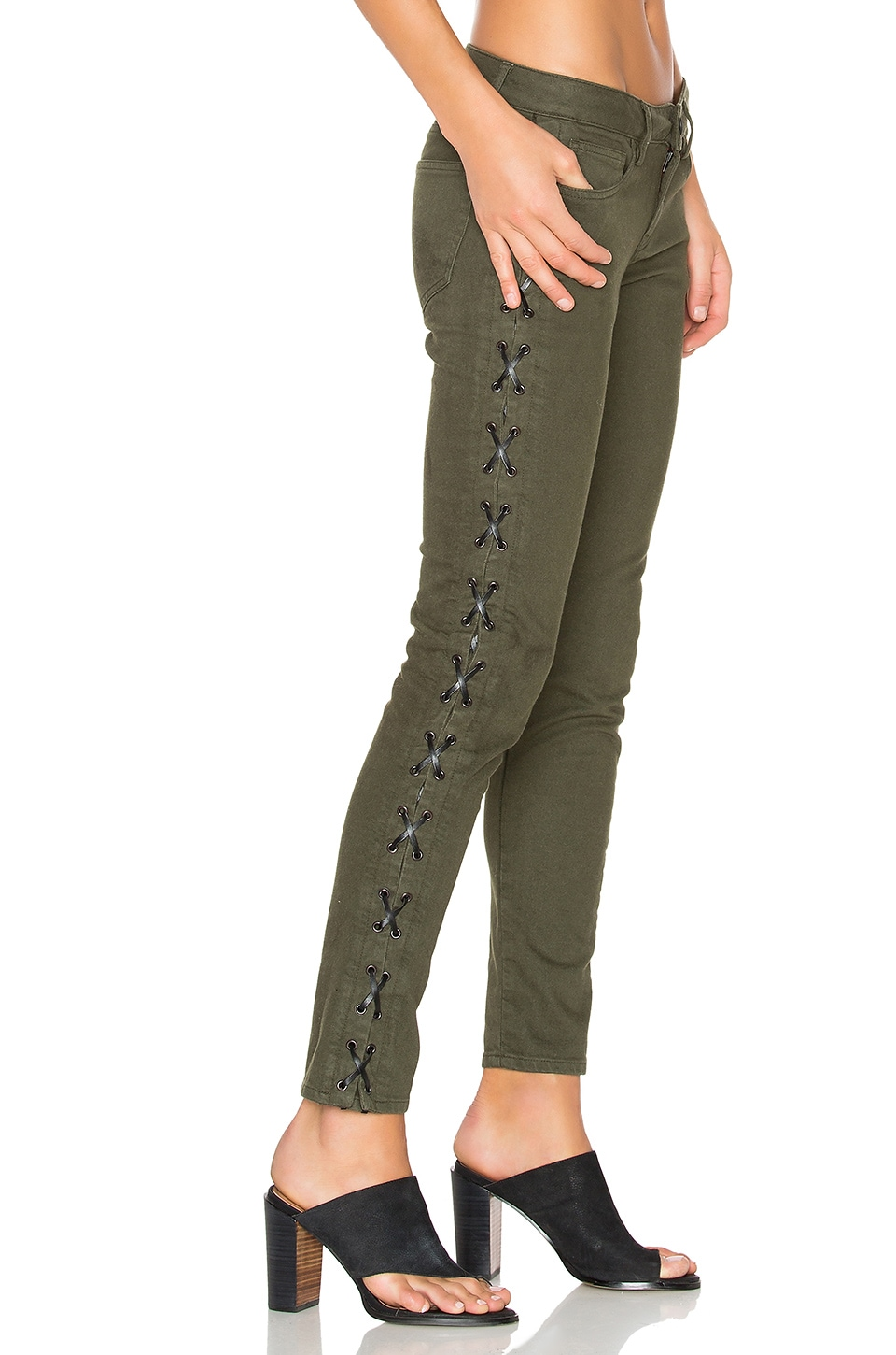 Lace Up Skinny