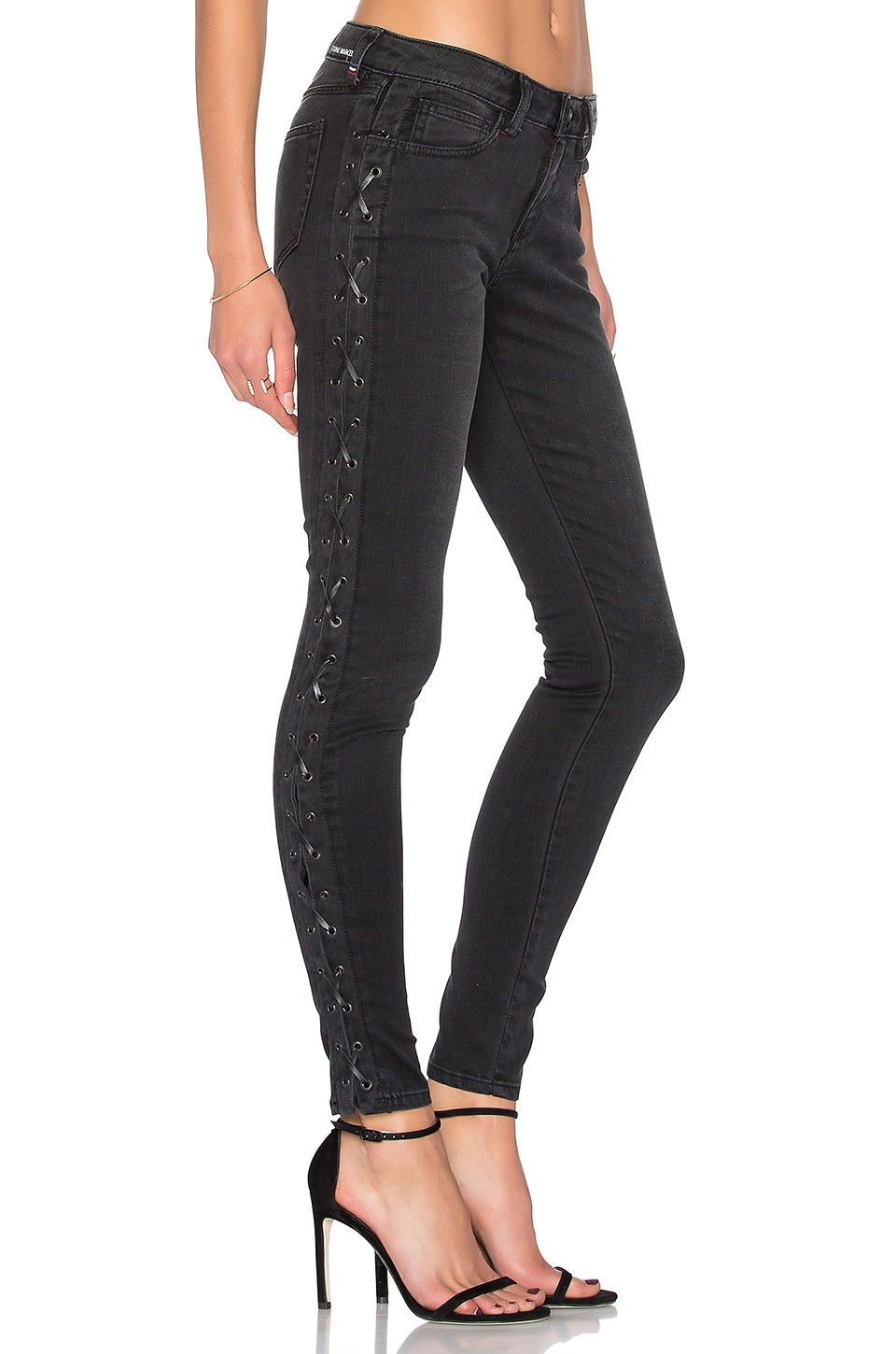 Lace Up Skinny by Etienne Marcel