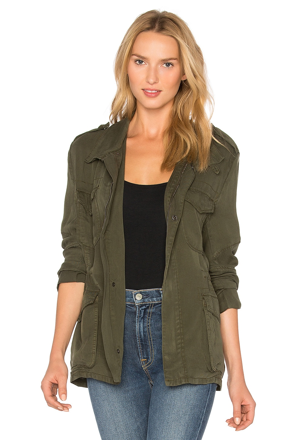 Etienne Marcel Military Jacket in Military