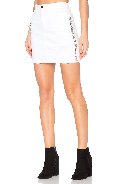 Studded Mini Skirt by Etienne Marcel