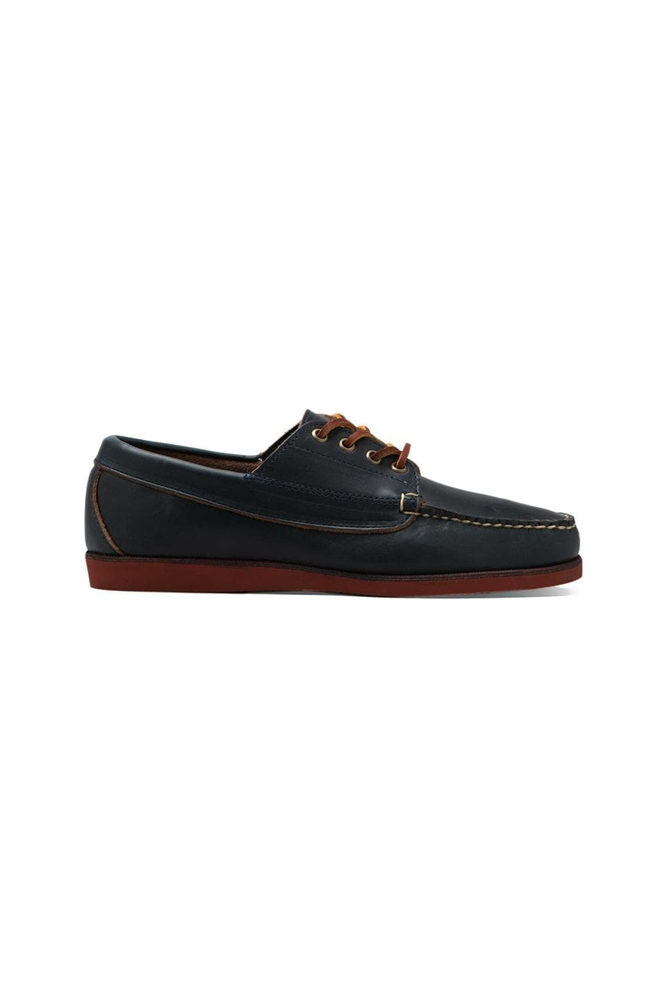 Eastland Made In Maine Falmouth USA in Navy/Brick