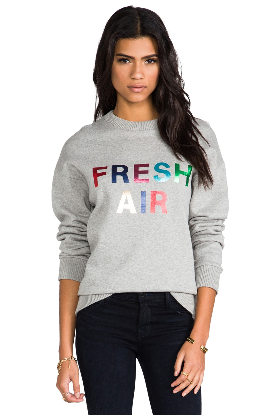 etre cecile Fresh Air Sweatshirt in Grey
